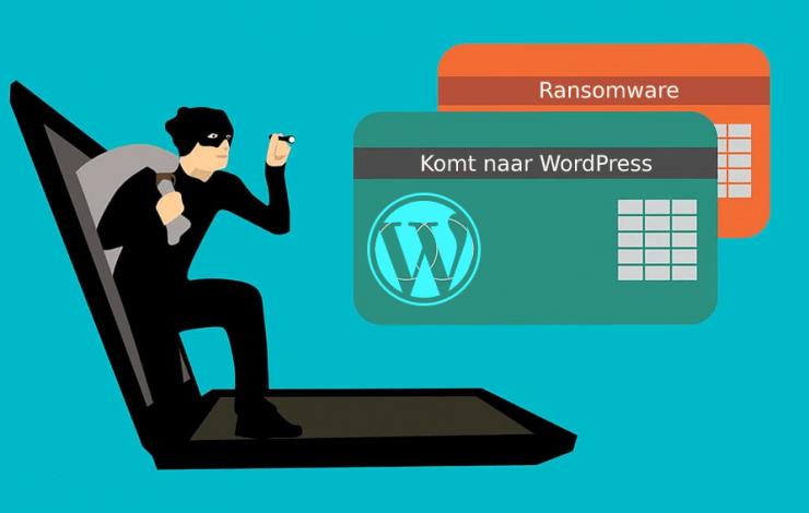 WordPress ransomware