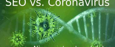 Coronavirus SEO nieuws