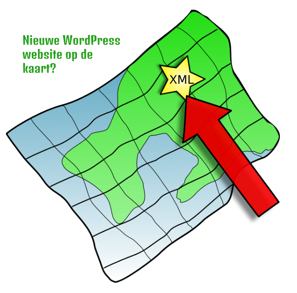 Nieuwe WordPress website geindexeerd
