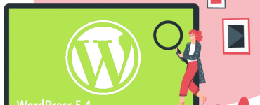 WordPress5.4 Release Green Laptop Lady 1