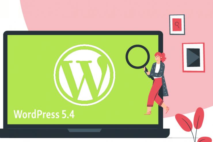 WordPress5.4 Release Green Laptop Lady 1