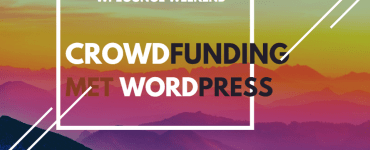 Crowdfunding met WordPress