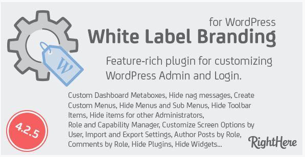 White Label Branding Plugin
