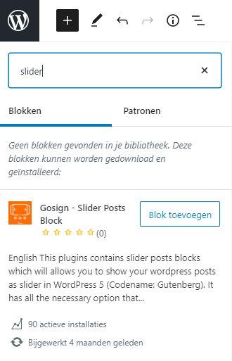 Block Directory