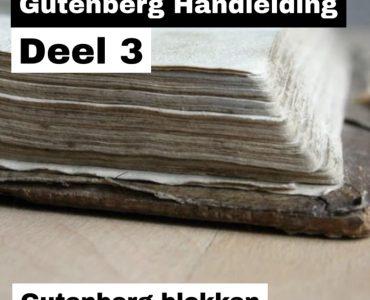 Gutenberg Deel 3