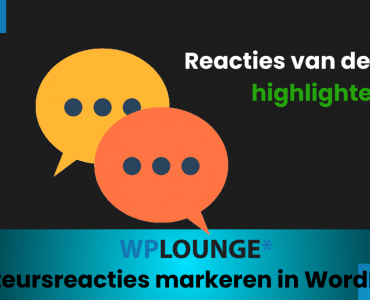 Reacties van de auteur highlighten in WordPress