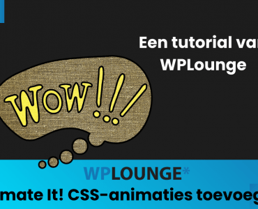 CSS-animaties toevoegen in WordPress met Animate It