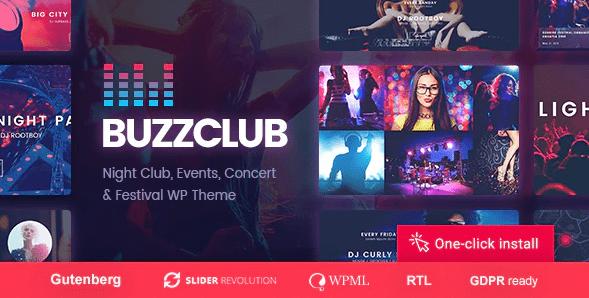 Buzzclub theme